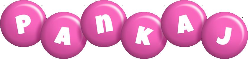 Pankaj candy-pink logo