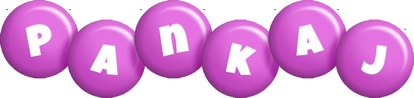 Pankaj candy-purple logo