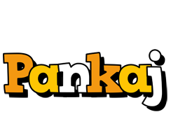 Pankaj cartoon logo