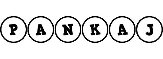 Pankaj handy logo