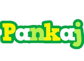 Pankaj soccer logo