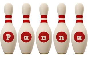 Panna bowling-pin logo
