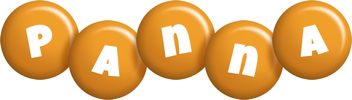 Panna candy-orange logo