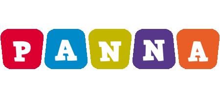 Panna daycare logo