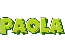 Paola summer logo