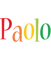 Paolo birthday logo