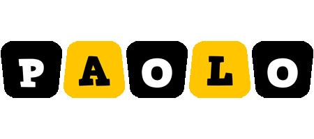 Paolo boots logo