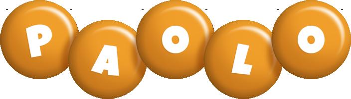 Paolo candy-orange logo
