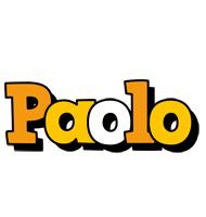 Paolo cartoon logo