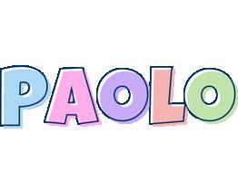 Paolo pastel logo