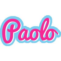 Paolo popstar logo