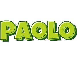 Paolo summer logo