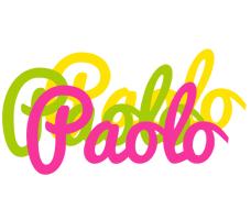 Paolo sweets logo