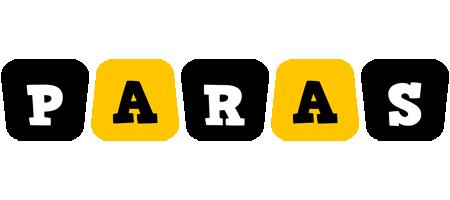 Paras boots logo