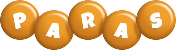 Paras candy-orange logo