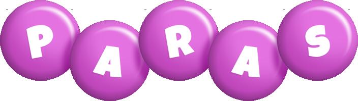 Paras candy-purple logo