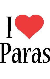 Paras i-love logo