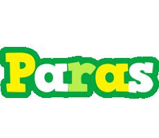 Paras soccer logo