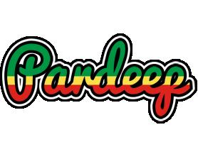 Pardeep african logo