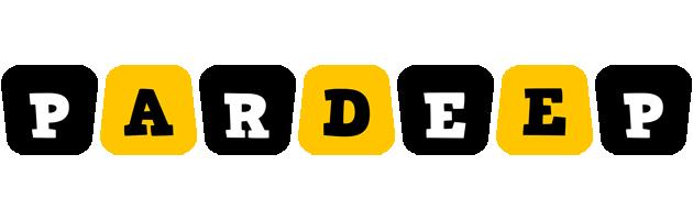 Pardeep boots logo