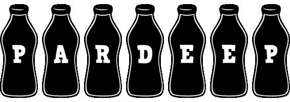 Pardeep bottle logo
