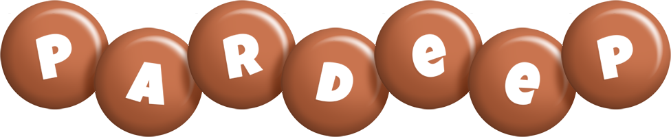 Pardeep candy-brown logo