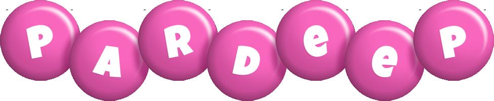 Pardeep candy-pink logo