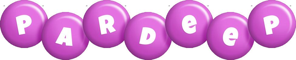 Pardeep candy-purple logo