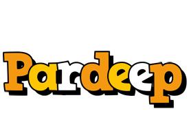 Pardeep cartoon logo