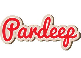 Pardeep chocolate logo