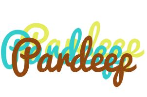 Pardeep cupcake logo