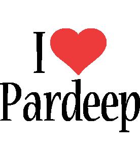 Pardeep i-love logo