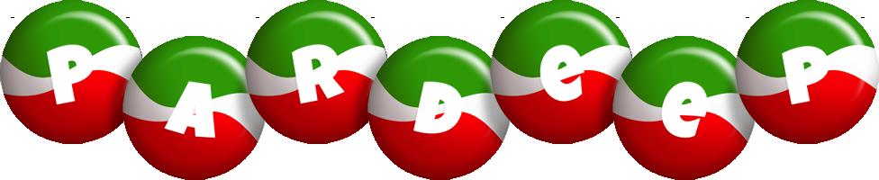 Pardeep italy logo