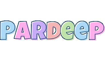 Pardeep pastel logo