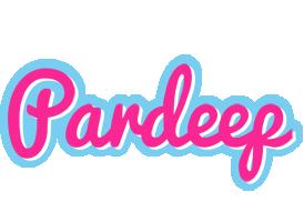 Pardeep popstar logo