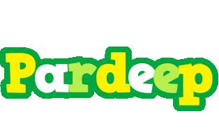 Pardeep soccer logo