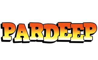 Pardeep sunset logo