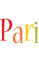 Pari birthday logo