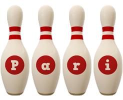 Pari bowling-pin logo