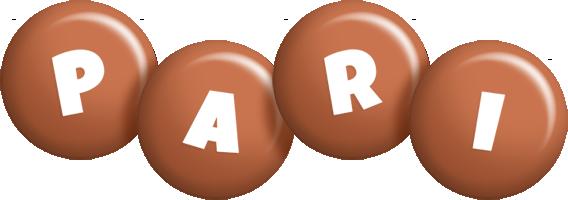 Pari candy-brown logo