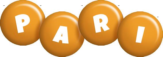 Pari candy-orange logo