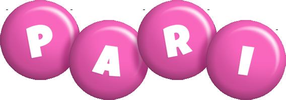 Pari candy-pink logo