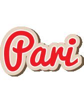 Pari chocolate logo