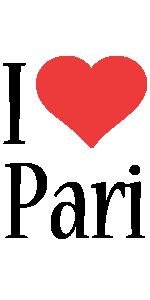 Pari i-love logo