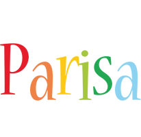Parisa birthday logo