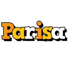 Parisa cartoon logo