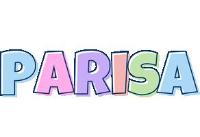 Parisa pastel logo