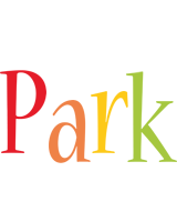 Park birthday logo
