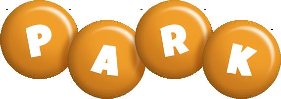 Park candy-orange logo