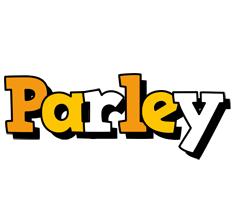 Parley cartoon logo